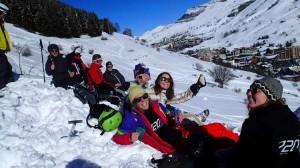 Vinterresan 2014 Les Deux Alpes